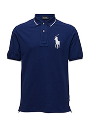 CLASSIC FIT COTTON MESH POLO - FALL ROYAL