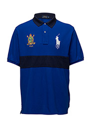 CLASSIC FIT BIG PONY POLO - SAPPHIRE STAR/CRUISE NAVY