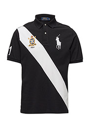 CLASSIC FIT BIG PONY POLO - POLO BLACK/WHIT