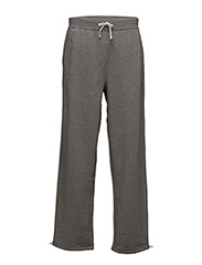 COTTON FLEECE FLAT PANT - ALASKAN HEATHER
