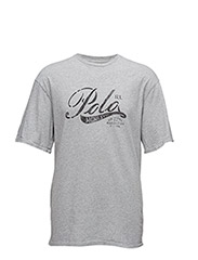 COTTON JERSEY GRAPHIC TEE - ANDOVER HTHR