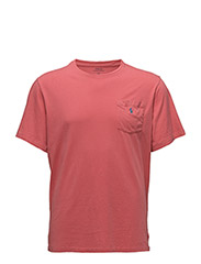 COTTON JERSEY POCKET T-SHIRT - WINSLOW RED