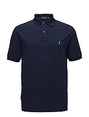 Classic Fit Mesh Polo Shirt - NEWPORT NAVY