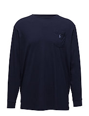 Classic Fit Cotton T-Shirt - NEWPORT NAVY