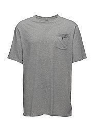 Classic Fit Cotton T-Shirt - LEAGUE HEATHER