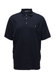Classic Fit Soft-Touch Polo - WORTH NAVY HEATHE
