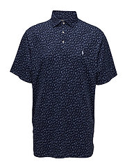 Classic Fit Soft-Touch Polo - TOSSED NAVY FLORA