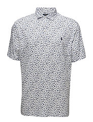 Classic Fit Soft-Touch Polo - TOSSED WHITE FLOR