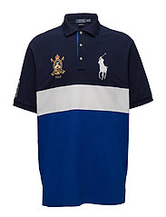 Classic Fit Mesh Polo Shirt - SAPPHIRE STAR MUL