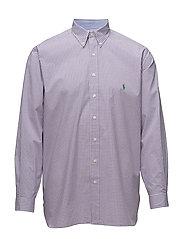 Classic Fit Cotton Sport Shirt - 2581C GRAPEVINE/W