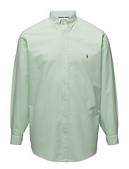 Classic Fit Cotton Sport Shirt - 2687B LIME/WHITE