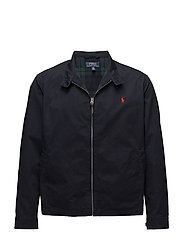 Cotton Twill Jacket - COLLEGE NAVY