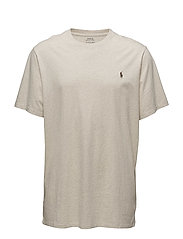 Classic Fit Cotton T-Shirt - NEW SAND HEATHER