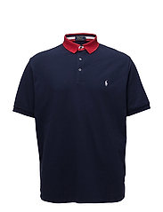 Classic Fit Mesh Polo Shirt - CRUISE NAVY