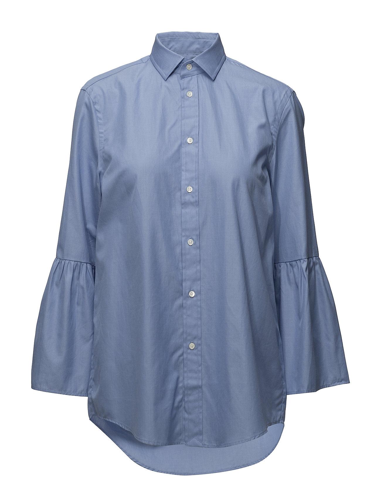 Polo Ralph Lauren Cotton Bell-Sleeve Shirt