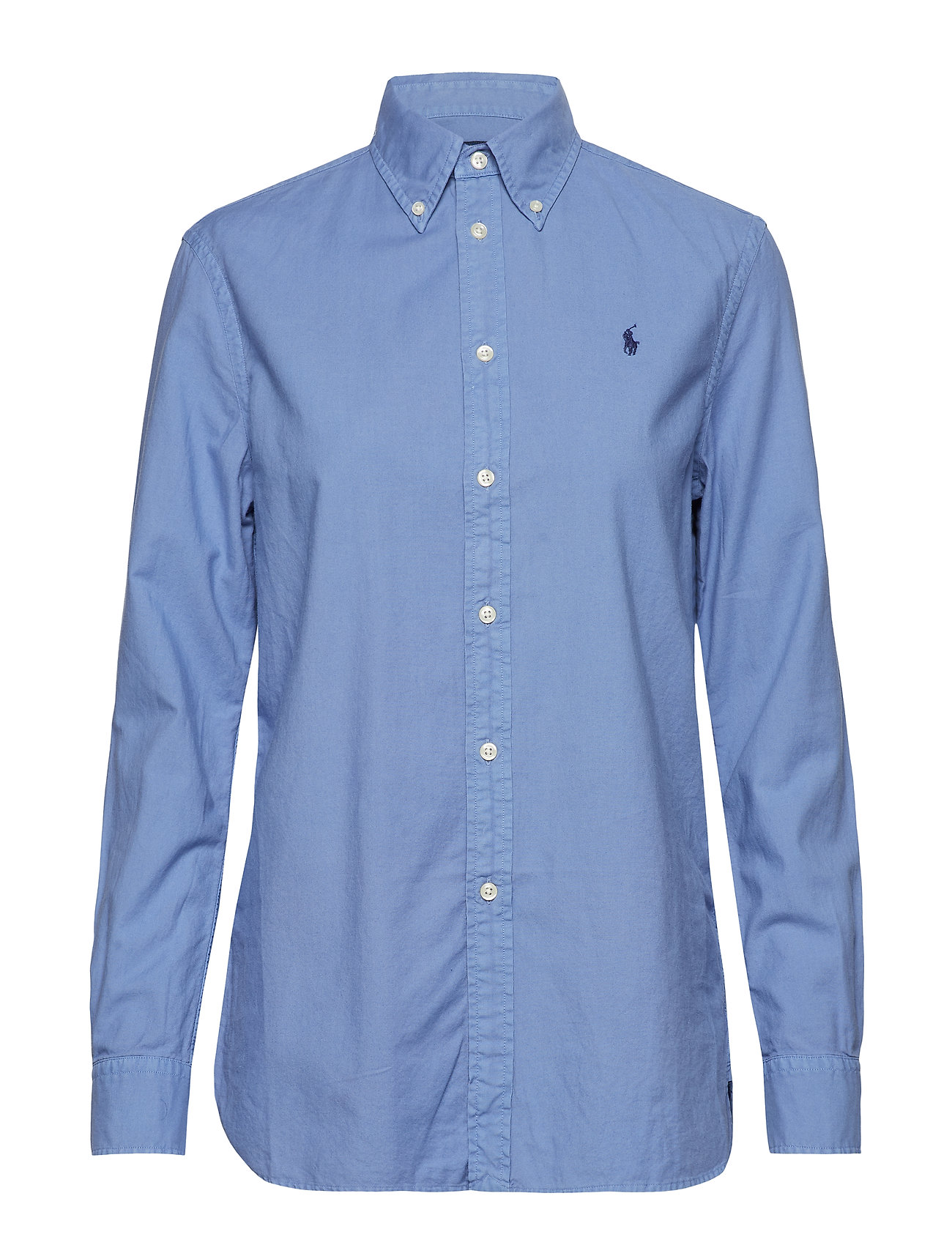 Relaxed fit oxford shirt french blue kr polo for French blue oxford shirt