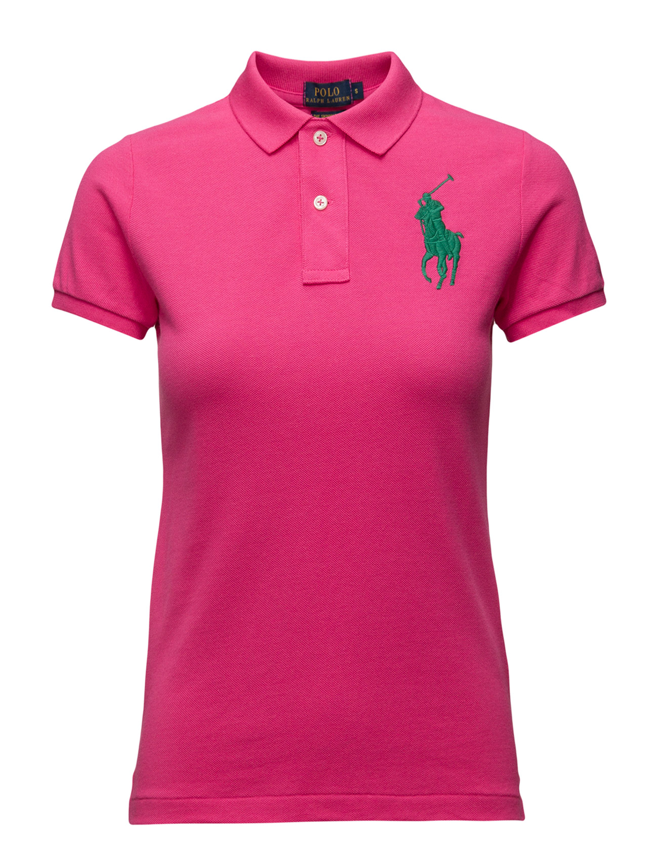 skinny fit big pony polo shirt active pink. Black Bedroom Furniture Sets. Home Design Ideas