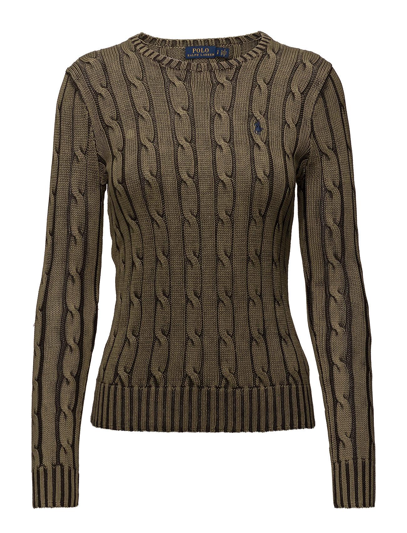 Polo Ralph Lauren Cable-Knit Crewneck Sweater