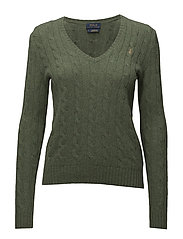 Wool-Blend Cable-Knit Sweater - LOVETTE HEATHER