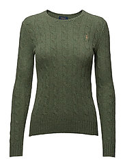 Wool-Cashmere Crewneck Sweater - LOVETTE HEATHER
