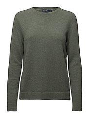 Cashmere Long-Sleeve Knit - LOVETTE HEATHER