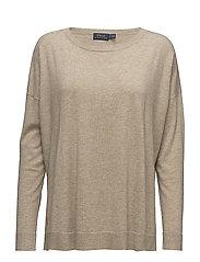 Drapey Sweater - VINTAGE BEIGE HEA