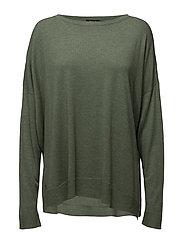 Drapey Sweater - LOVETTE HEATHER
