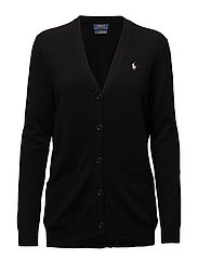 Merino Boyfriend Cardigan - POLO BLACK