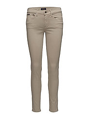 Tompkins Sateen Skinny Jean - TAUPE