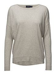 Drapey Sweater - STONE GREY HEATHER