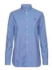 GD LT OXFORD-LSL-SHT - FRENCH BLUE