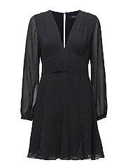 Diamond-Print Silk Dress - MONTAUK GEO PRINT