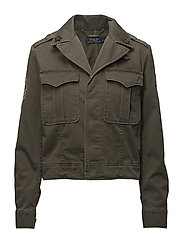 COMPACT COTTON-JKT - DEFENDER GREEN