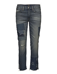 Waverly Straight Crop Jean - MEDIUM INDIGO