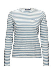 Striped Long-Sleeve T-Shirt - BLUE NOTE/NEVIS