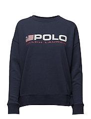 Fleece Crewneck Sweatshirt - CLASSIC ROYAL