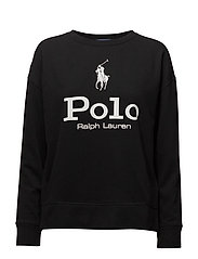 Fleece Crewneck Sweatshirt - POLO BLACK