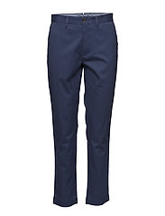 Stretch Twill Cropped Pant - LIGHT NAVY