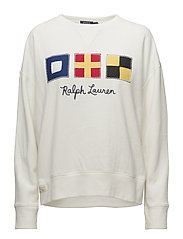 Flag Patch Fleece Sweatshirt - NEVIS