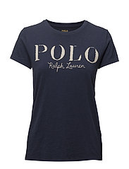 Polo Jersey Graphic T-Shirt - CLASSIC ROYAL