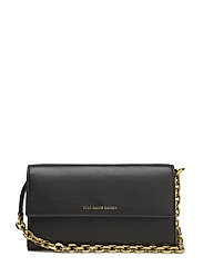 NAPPA COLORS-CHAIN WALLET-WLT-SMA - BLACK