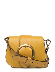 Pebbled Leather Lennox Bag - OCHRE