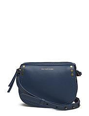 Calfskin Crossbody Bag - DENIM BLUE