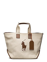 Cotton-Jute Big Pony Tote - ECRU