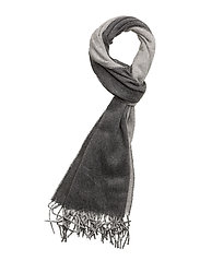 Reversible Wool Scarf - ANTQ HTHR/LT VNT