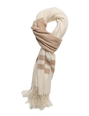 Blanket Stripe Wool Scarf - CLCTN CRM/ CML ML
