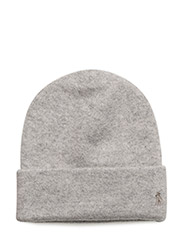 Cashmere Beanie - LIGHT VINTAGE HEATHER
