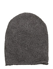 CASHMERE-PERFECT CAP - ANTIQUE HEATHER