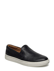 DREA NAPPA SLIP-ON SNEAKER - BLACK
