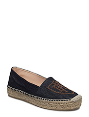 JOANNE DENIM ESPADRILLE - BLUE